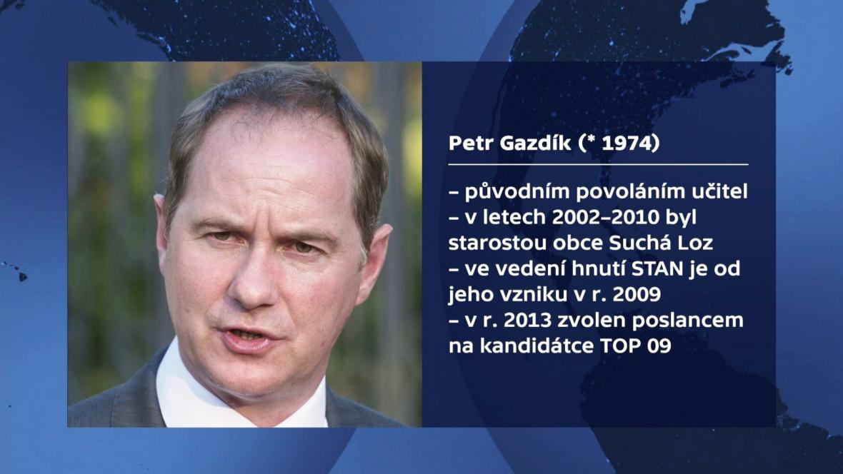 Profil Petra Gazdíka