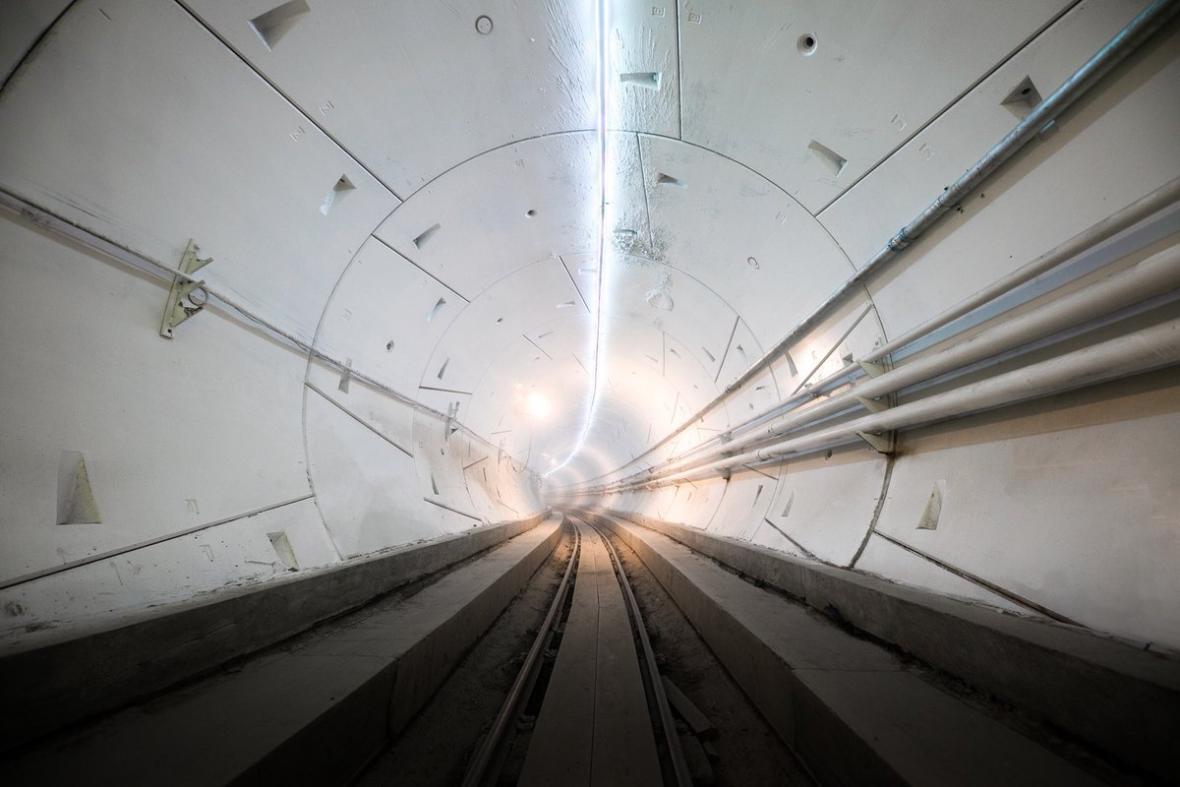 Tunel vykopaný Boring Company