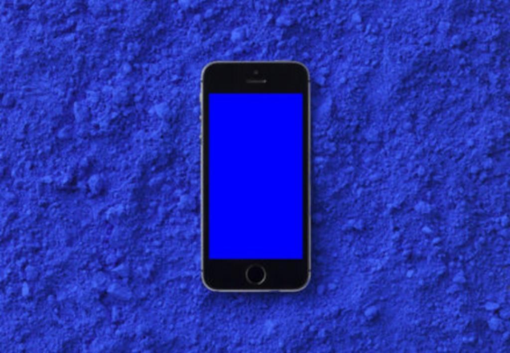 Jana Bernartová / Blue