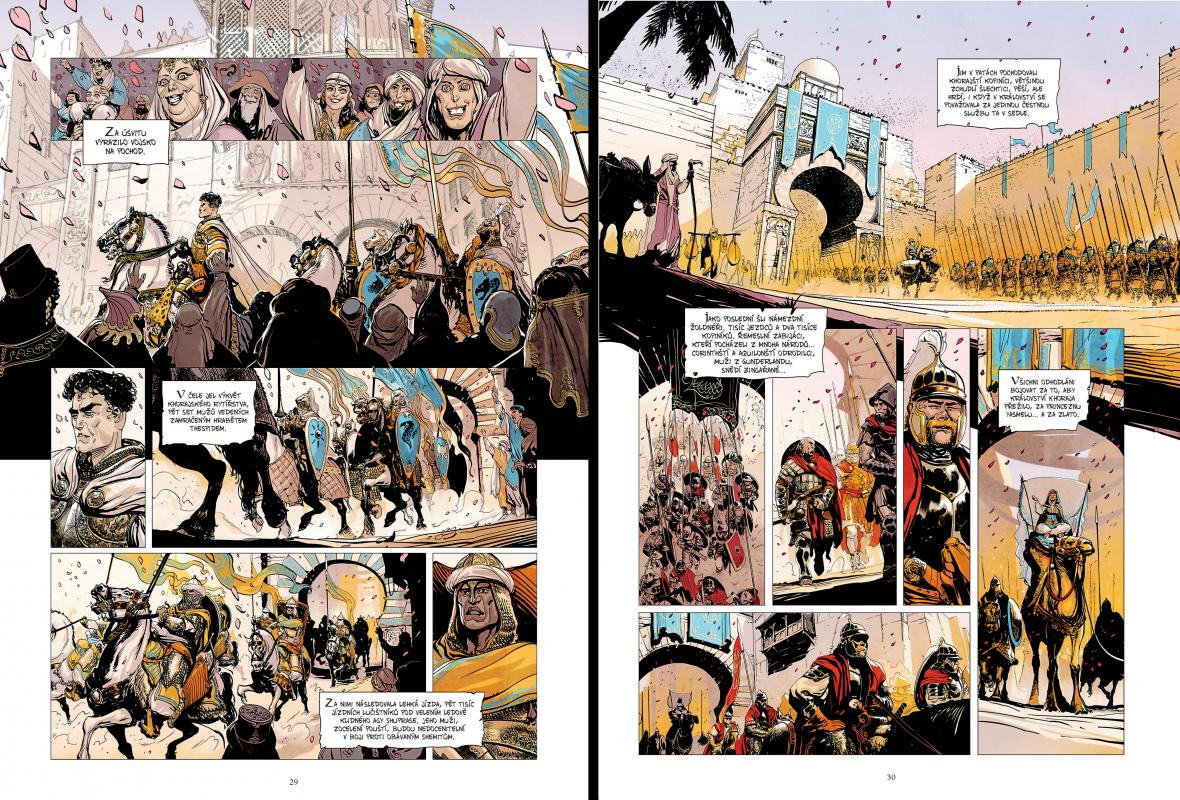 Z komiksu Conan z Cimmerie – svazek 1