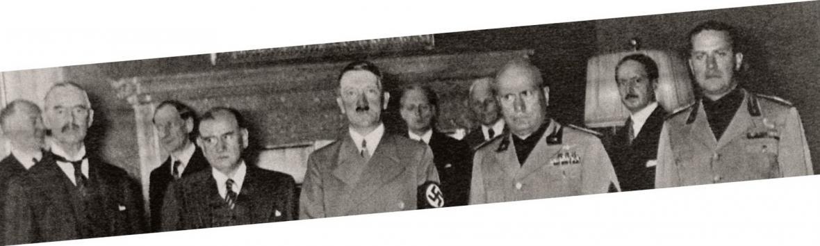 Účastníci mnichovské konference v září 1938