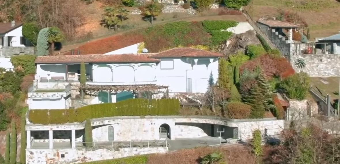 Dům Andreje Klišase ve Švýcarsku