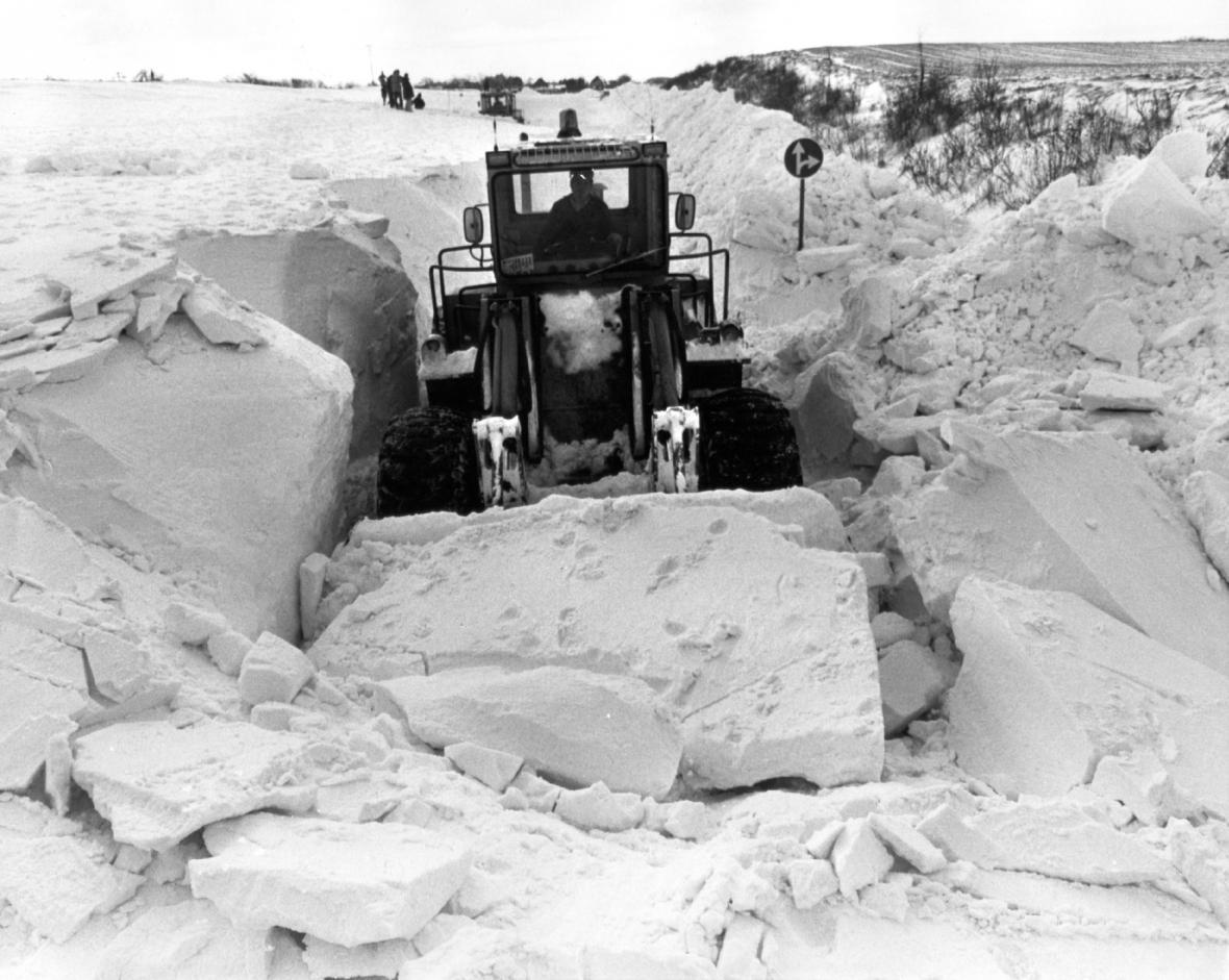 Sněhová kalamita v severoněmeckém Šlesvicku-Holštýnsku (2. ledna 1979)