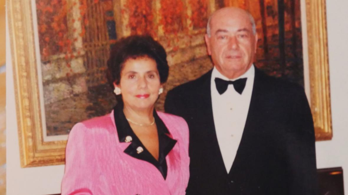 Jolana Blau s manželem Vojtěchem