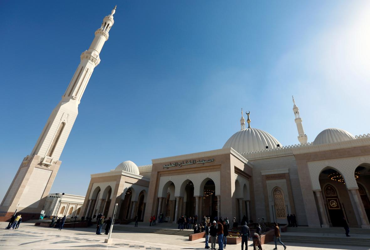 Otevřená mešita v nové egyptské správní metropolie