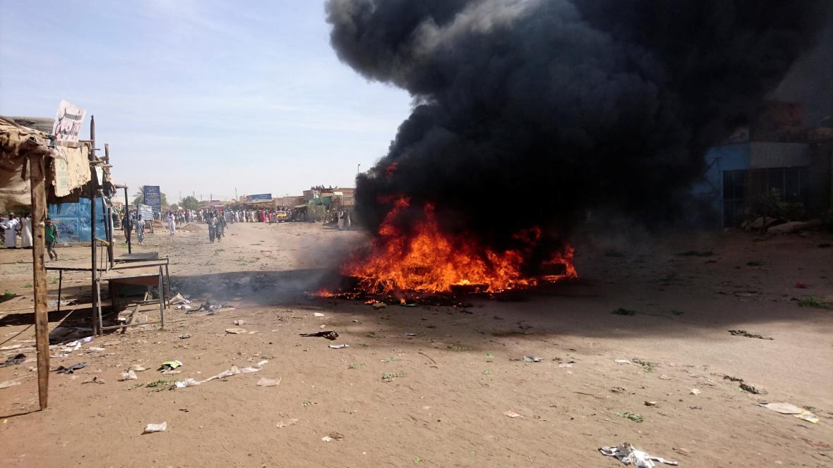 Nepokoje v Súdánu kvůli zvyšování cen