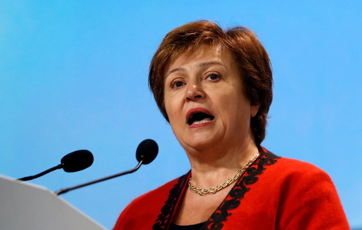 Výkonná ředitelka Světové banky Kristalina Georgievová.