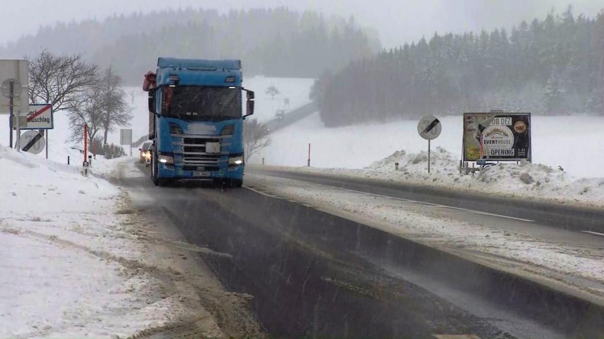 Situace na česko-rakouské hranici u Dolního Dvořiště