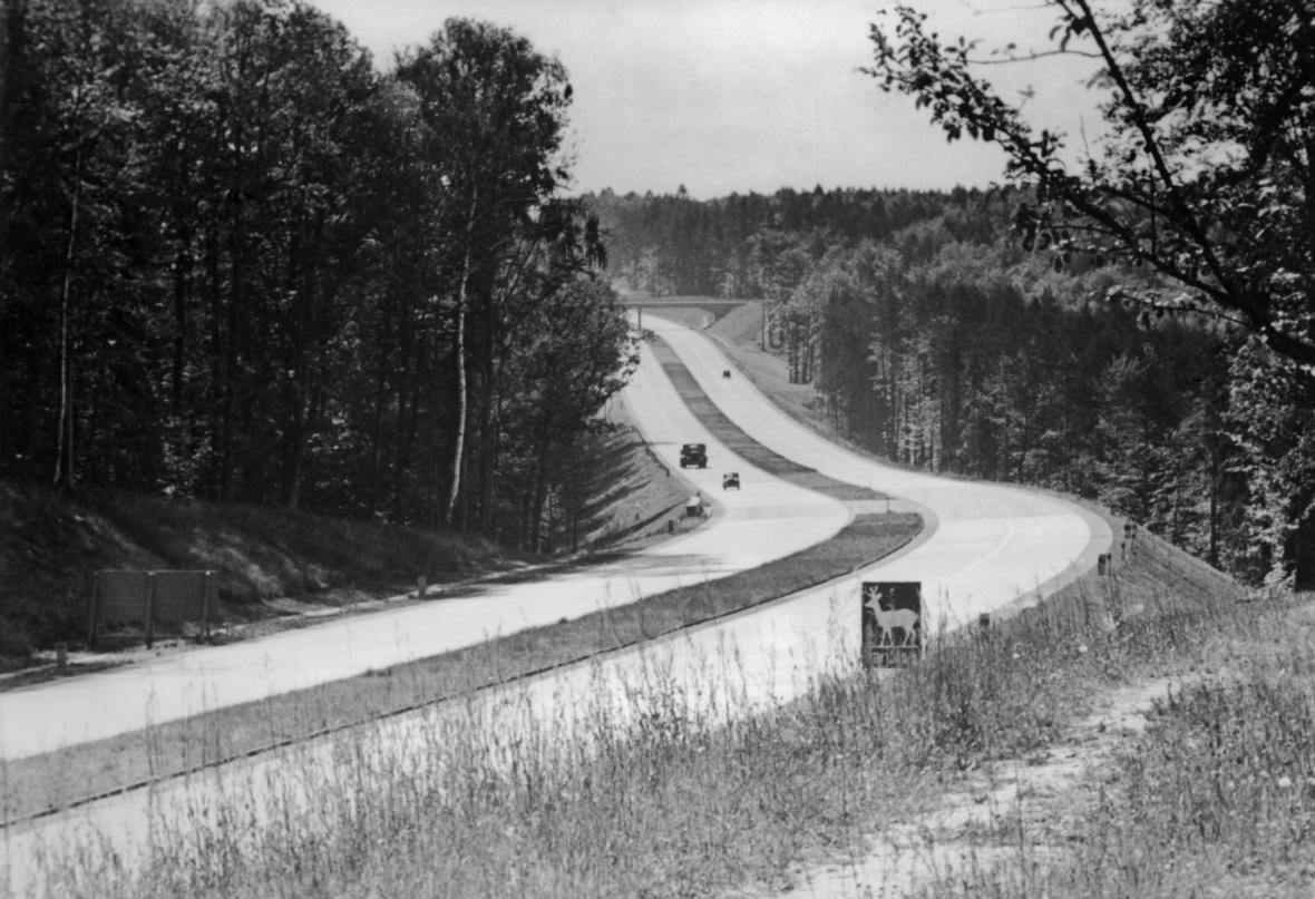 Německá dálnice ze 30. let