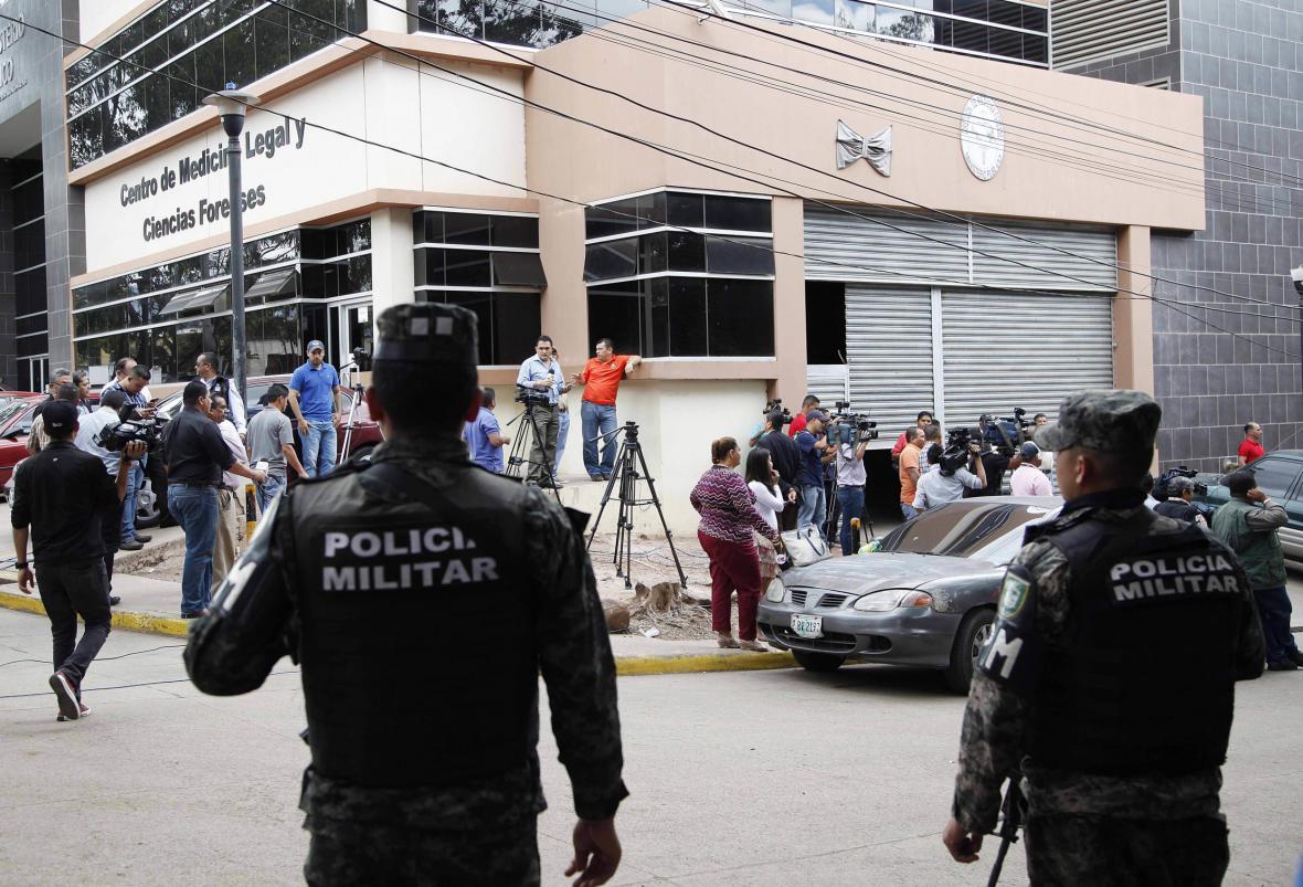 Honduraské bezpečnostní síly
