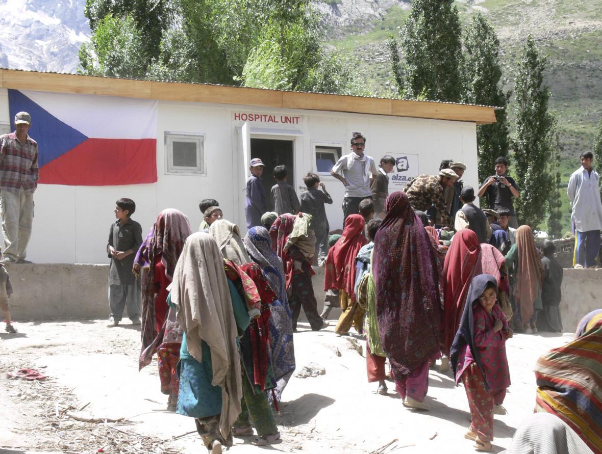 Česká nemocnice v Pákistánu