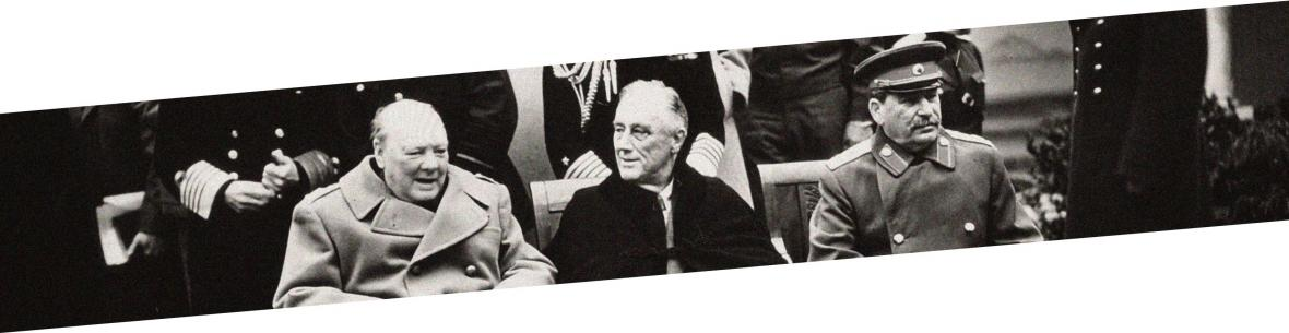 1945: Jaltská konference