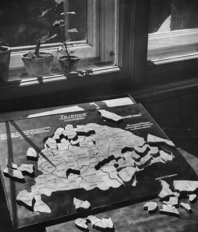 Trianonská smlouva - Uhry jako puzzle