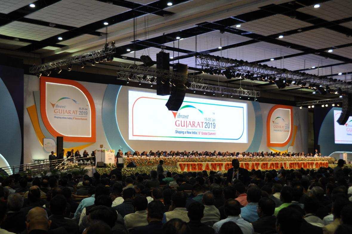 Investiční fórum Vibrant Gujarat Summit