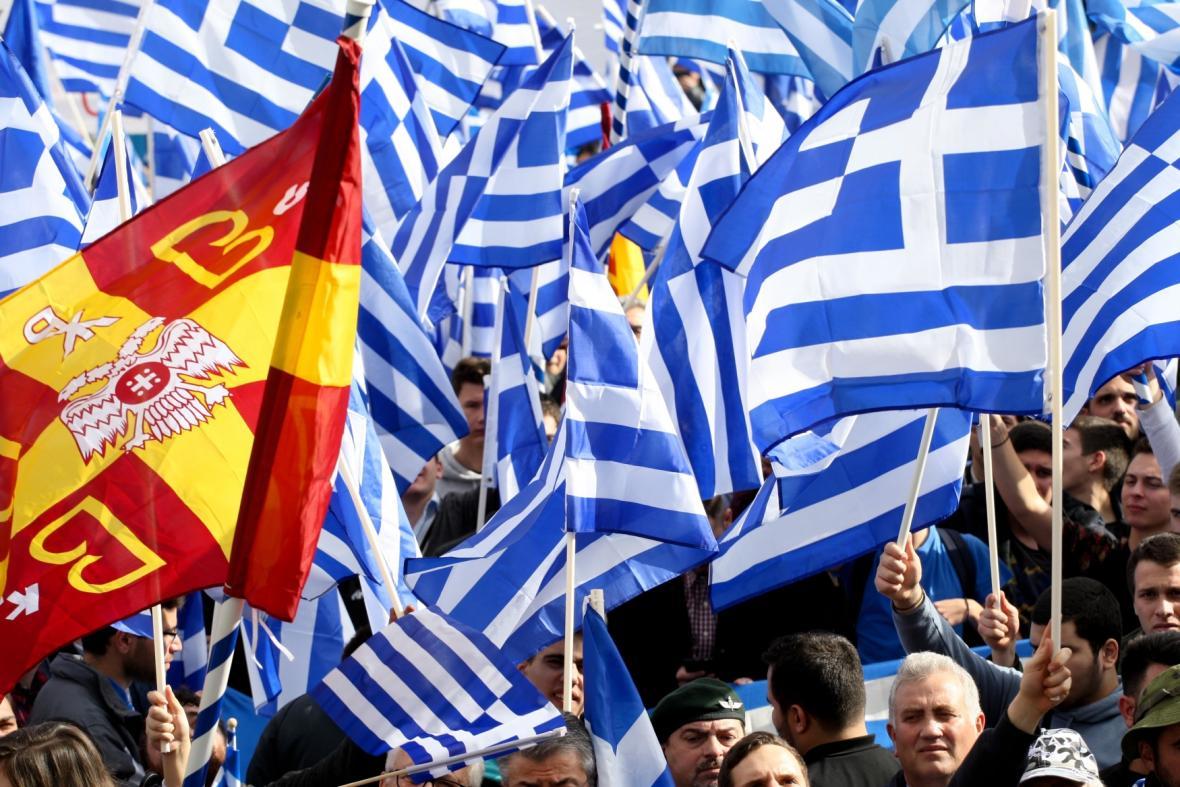 Protest v Athénách