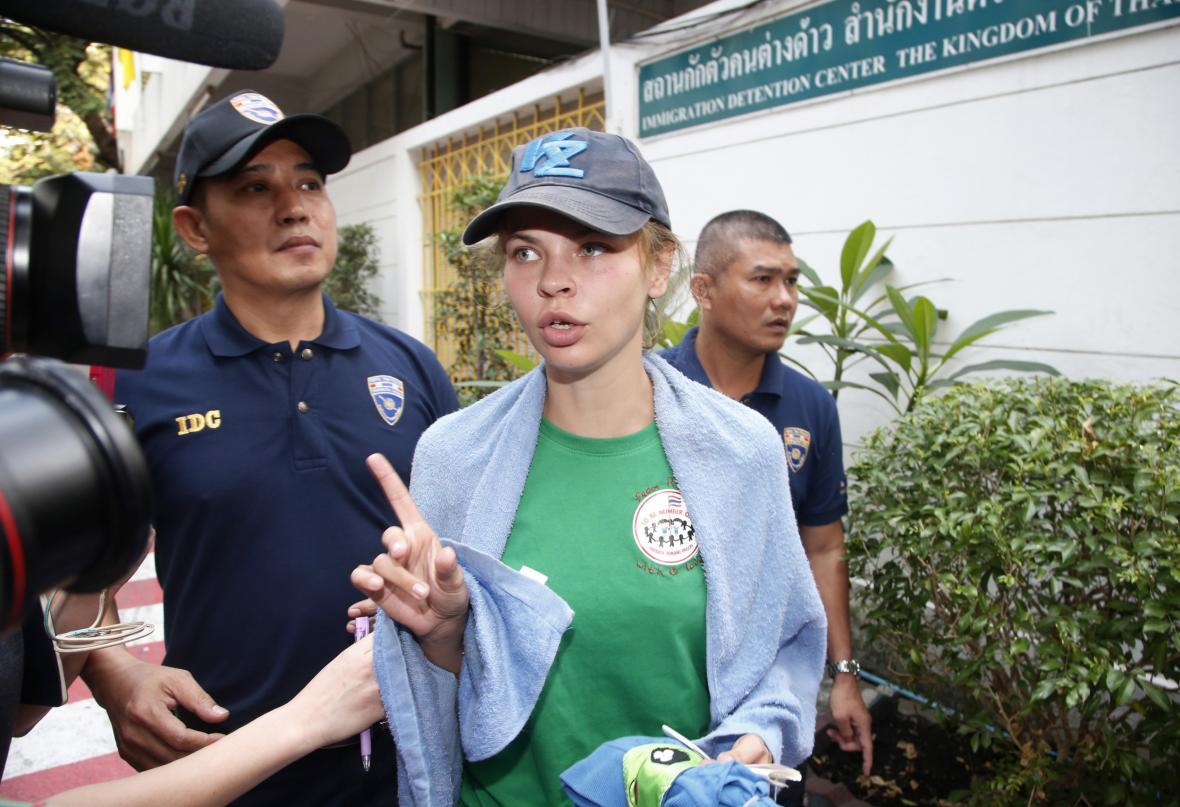 Deportace Anastasije Vašukevičové z Thajska