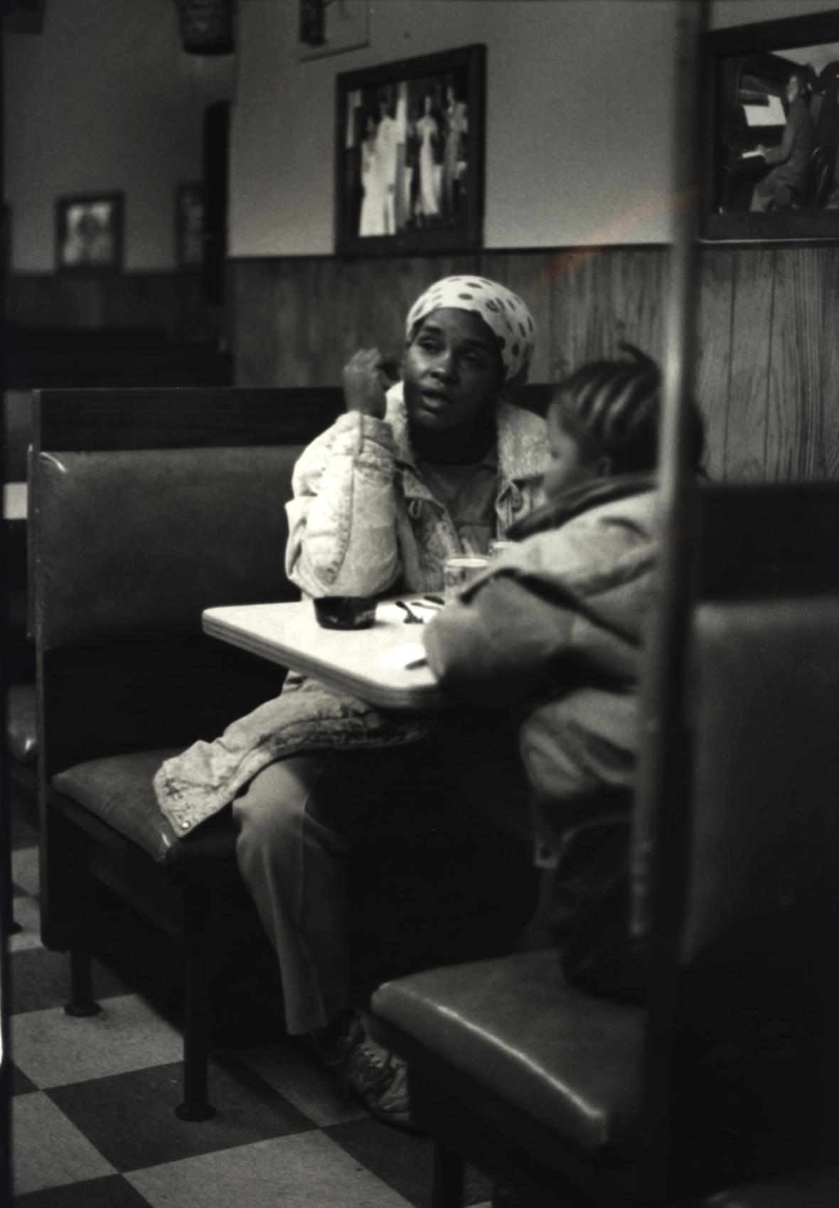 Ming Smith /  Lady and Child (From The August Wilson Series), ca.1993