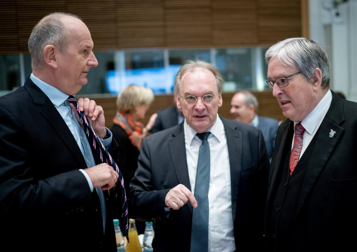 Jednání takzvané uhelné komise v Berlíně