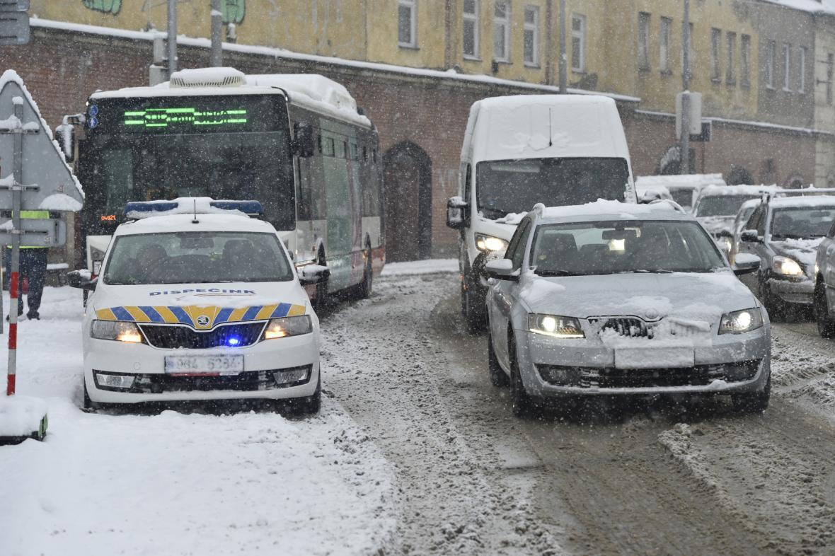 Zasněžené Brno