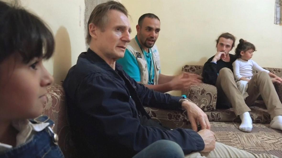 Liam Neeson se angažuje v humanitárních projektech
