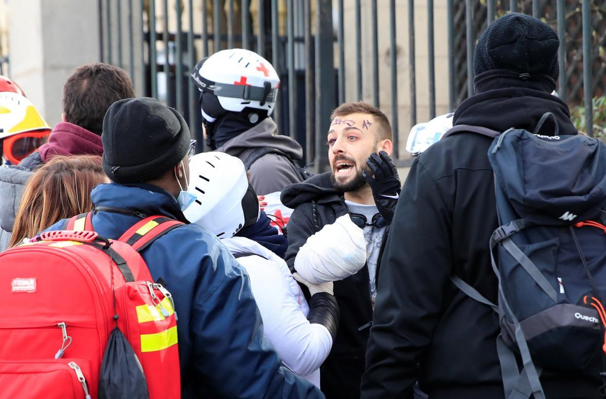 Protesty žlutých vest ve Francii