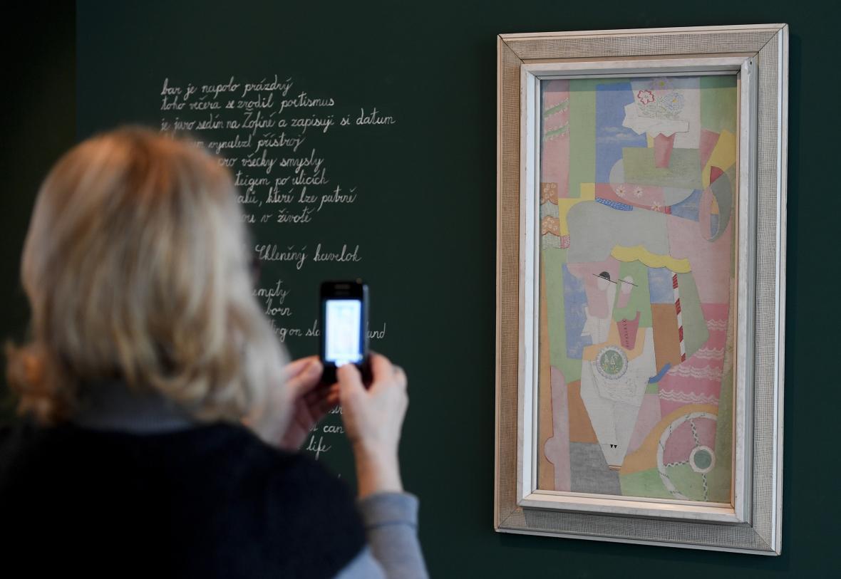 Výstava Angelo Maria Ripellino: Praha byla krásnější než Řím