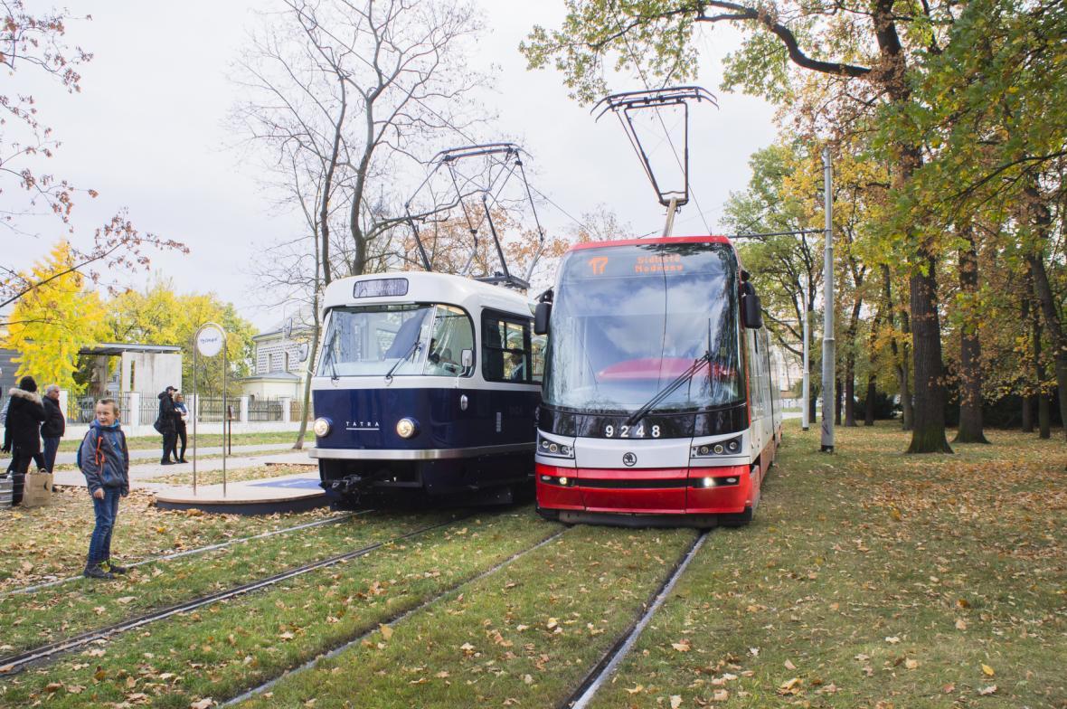 Tramvaje 15T a T3 Coupé