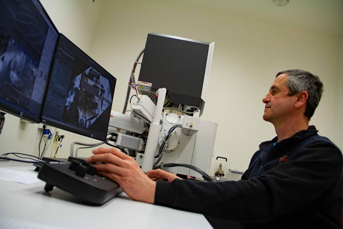 Elektronový mikroskop Apreo VS