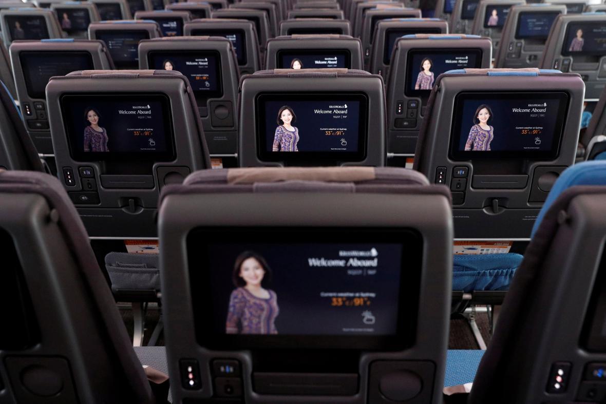 Interiér A380