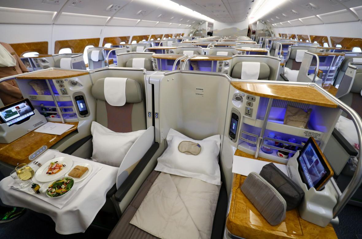 Pvní třída v A380