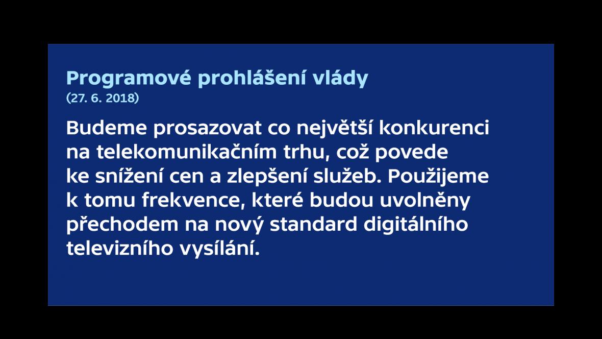 Prohlášení vlády