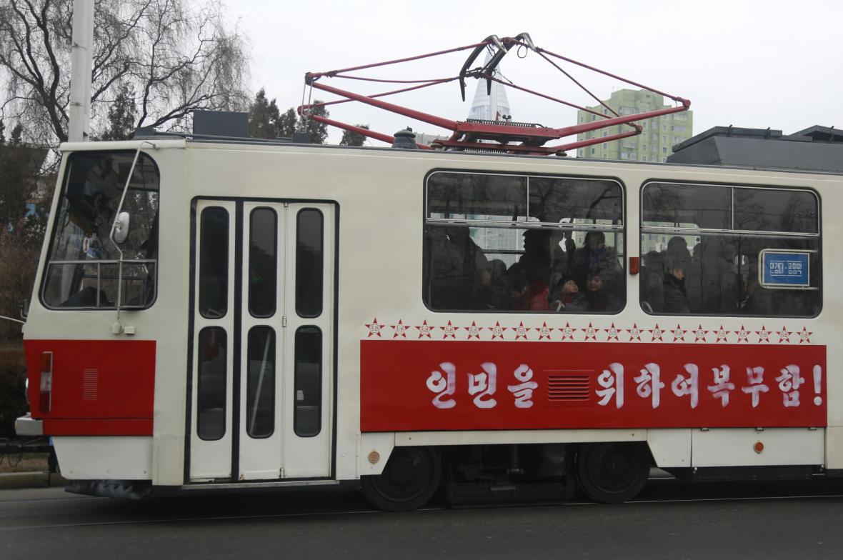 Tramvaj v KLDR