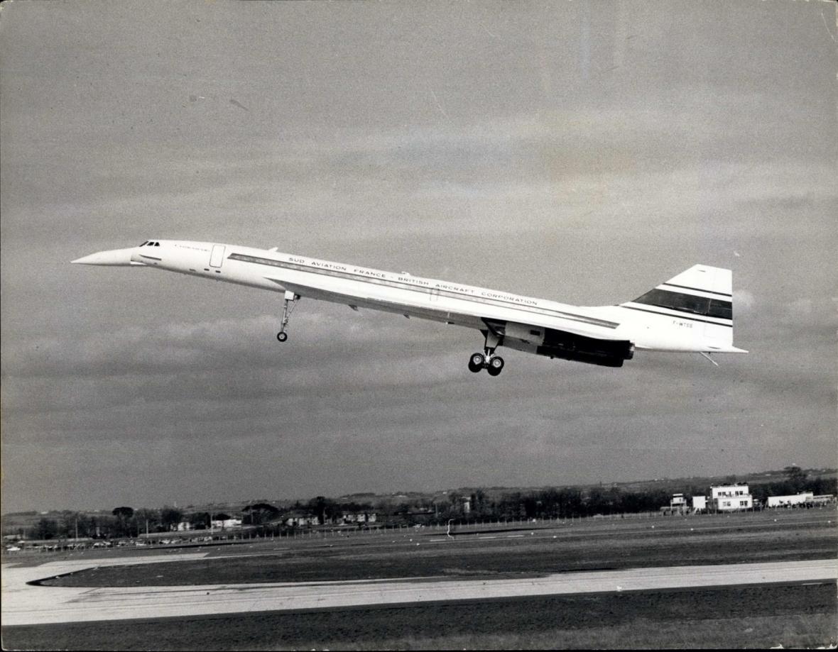 První let Concordu