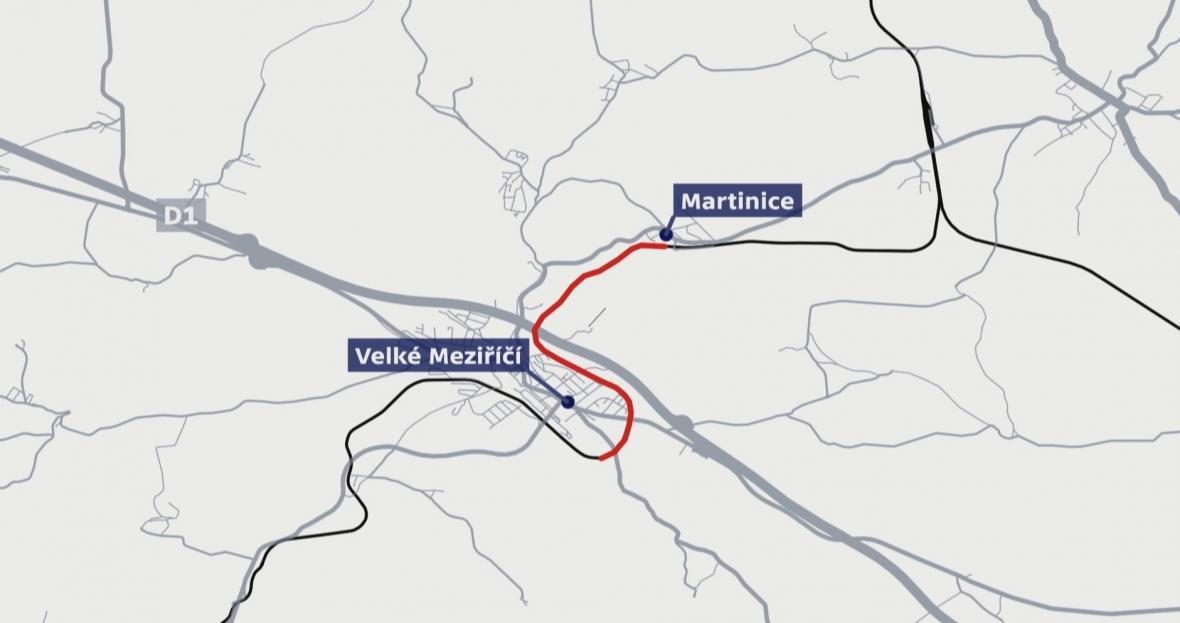 Trasa vlaku, který jel 6 kilometrů bez strojvedoucího