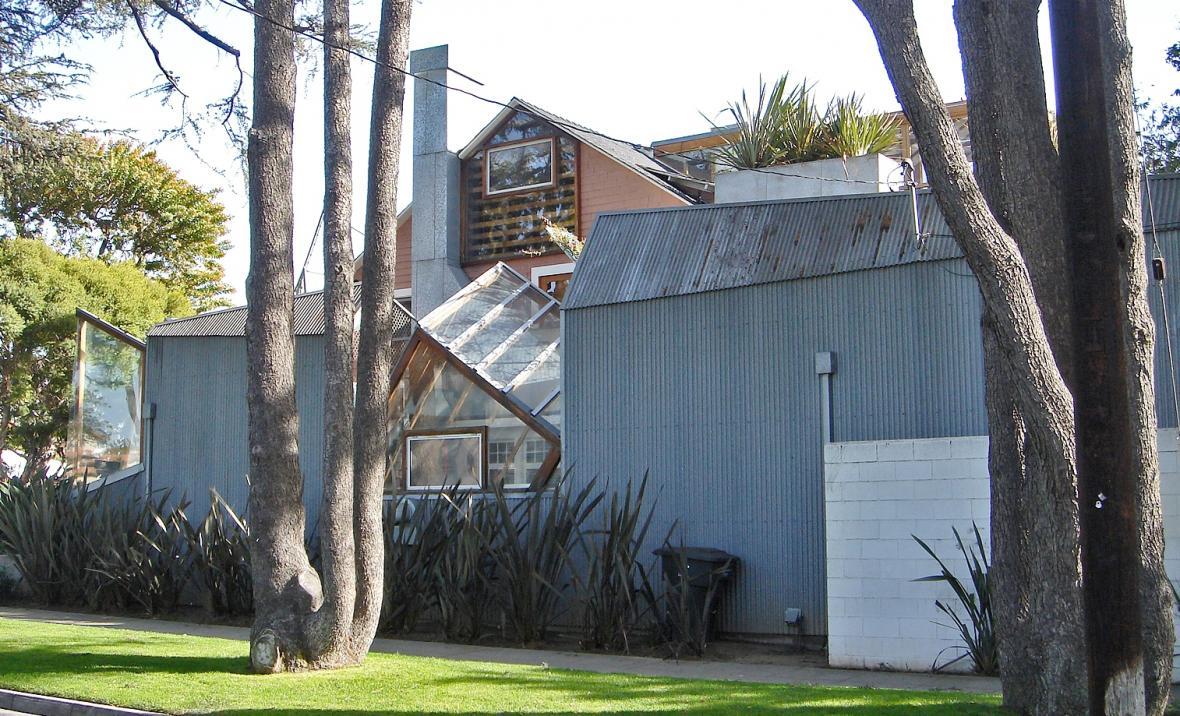 Dům Franka Gehryho v Santa Monice