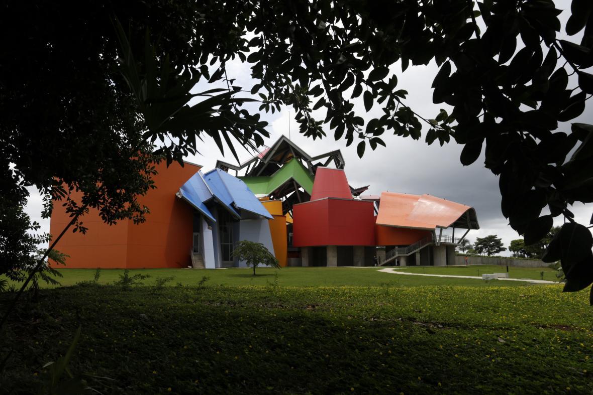 Biomuseum v Panamě