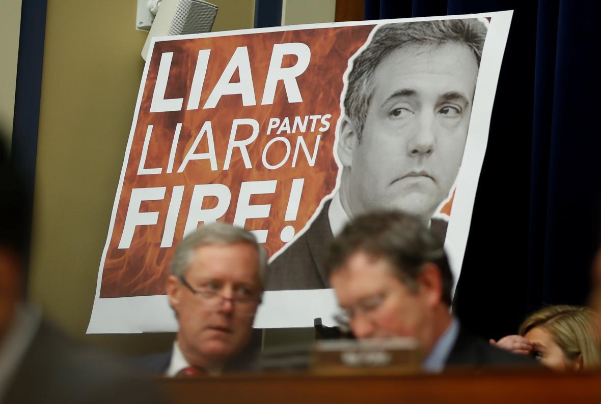 Cohen je lhář, snaží se zdůraznit Trumpovi příznivci