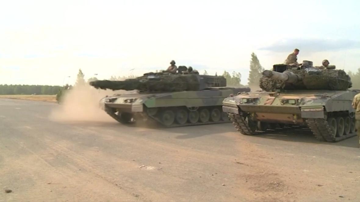 Německé tanky Leopard 2