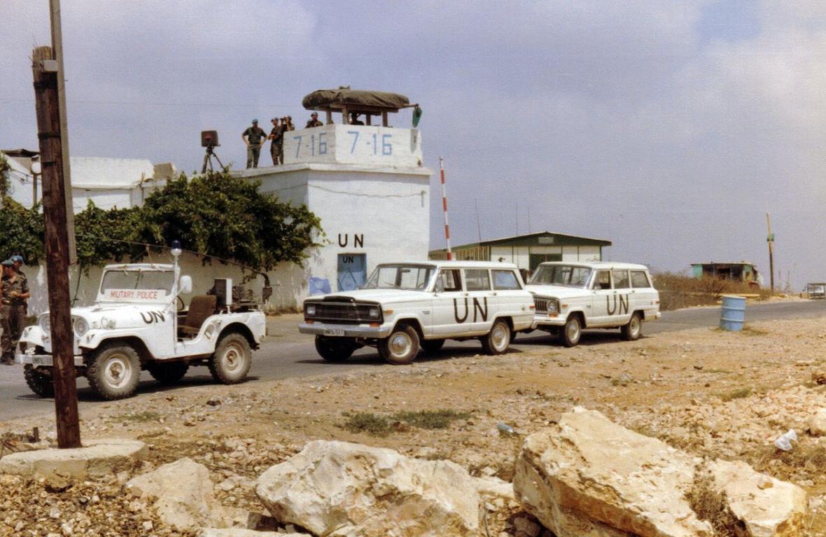 Základna OSN na jihu Libanonu