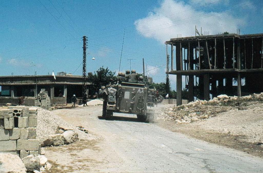 Izraelské jednotky v Libanonu v roce 1982