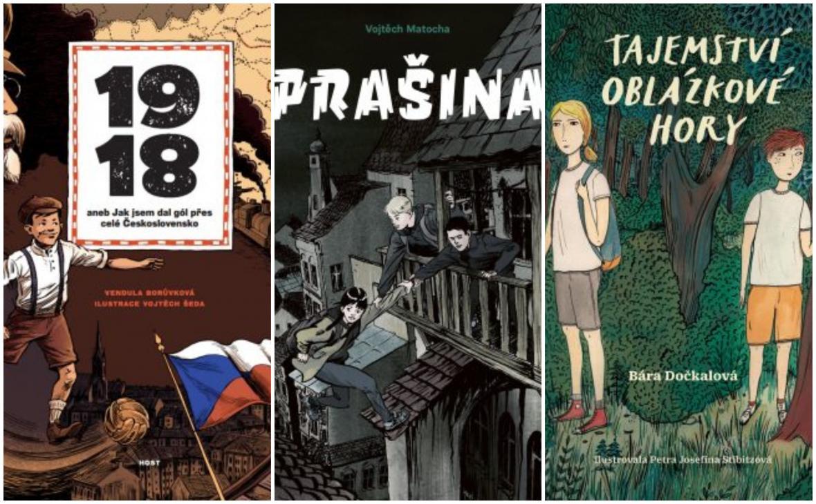 Nominace Magnesia Litera za rok 2018: Literatura pro děti a mládež
