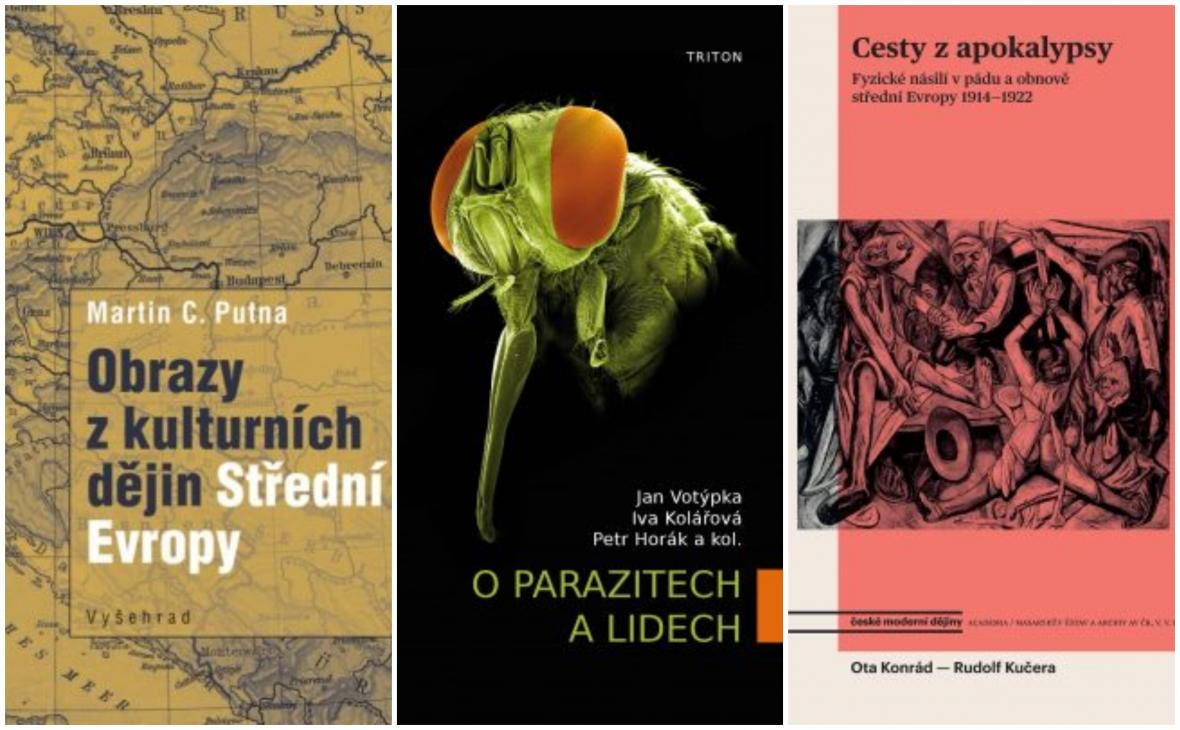 Nominace Magnesia Litera za rok 2018: Naučná literatura