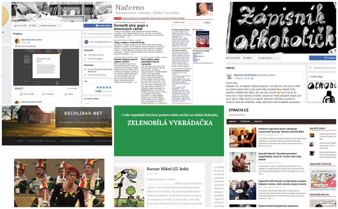Nominace Magnesia Litera za rok 2018: Blog