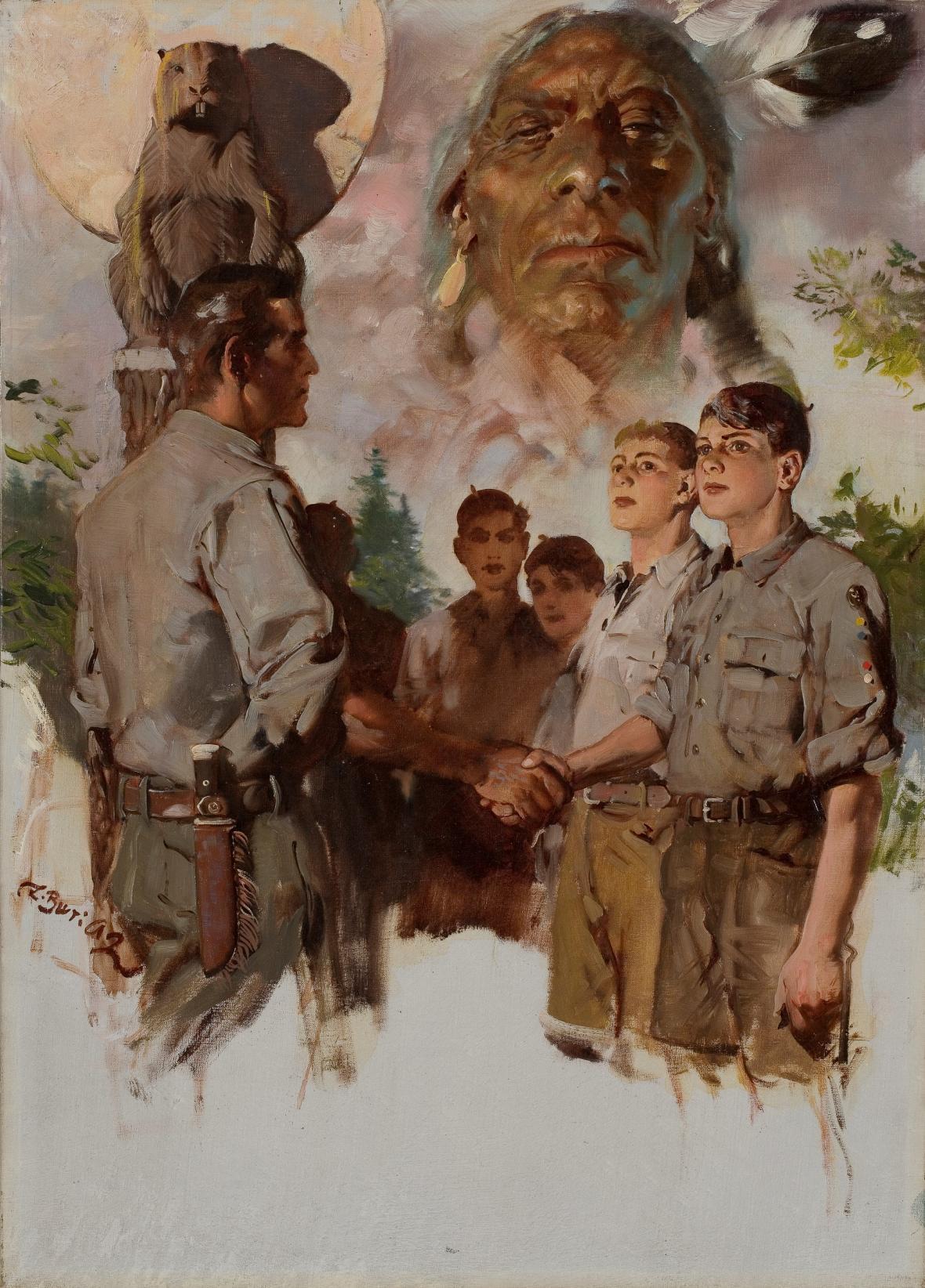 Hoši od Bobří řeky, obálka, 1937