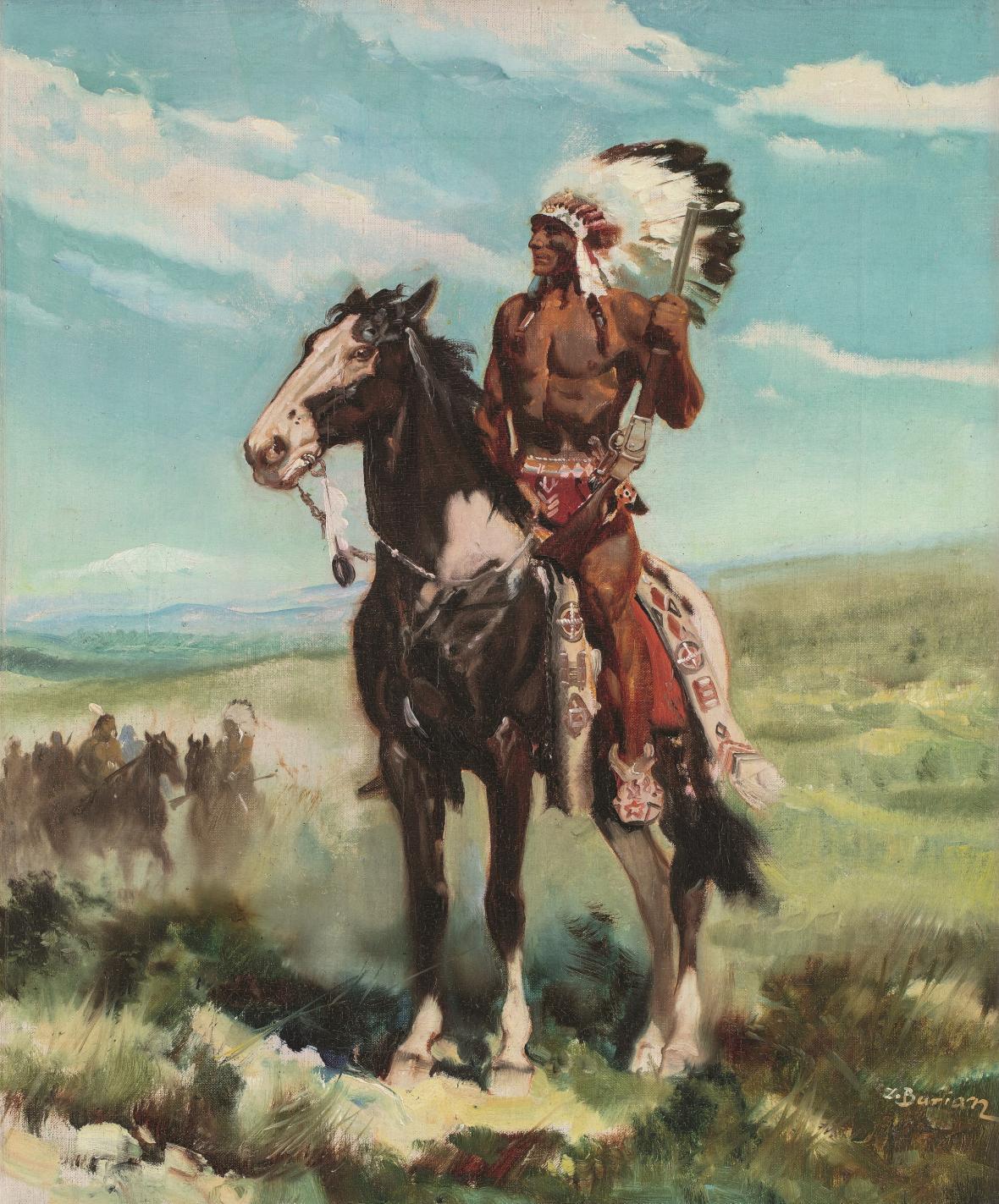 Vinnetou – Indiánské léto, obálka, 1939