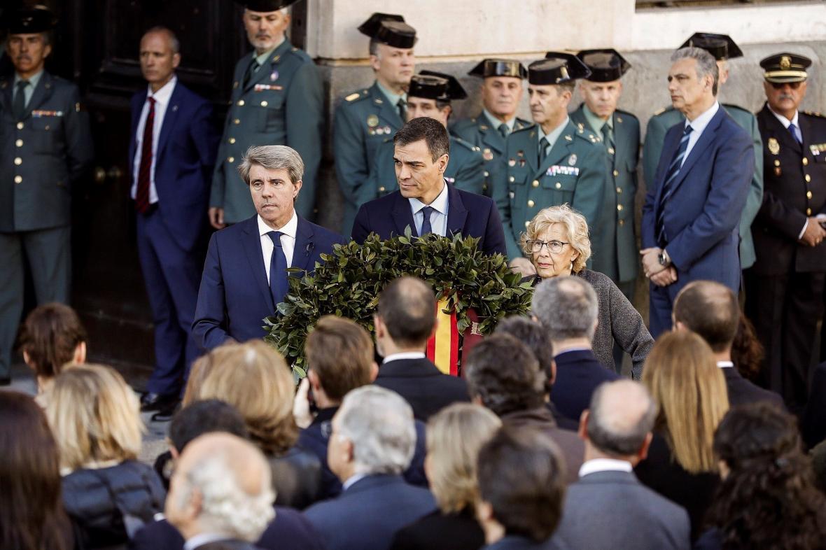 Piety v Madridu se zúčastnila celá španělská vláda