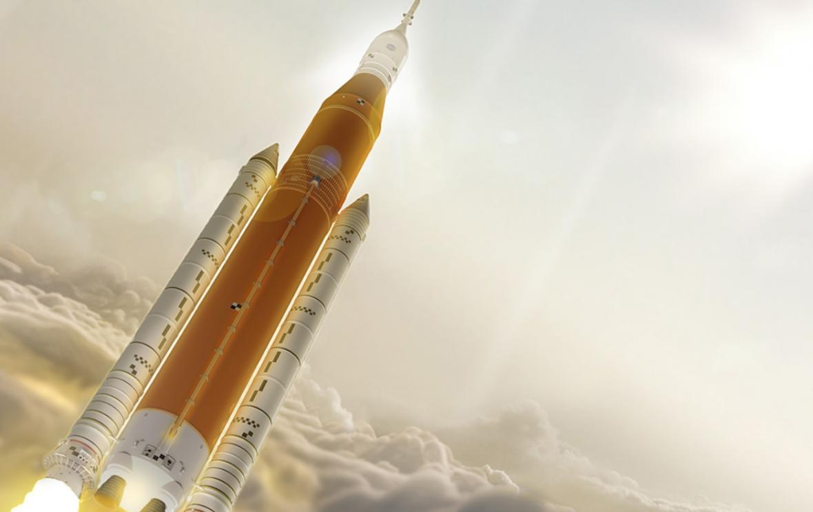 Raketa SLS, vizualizace