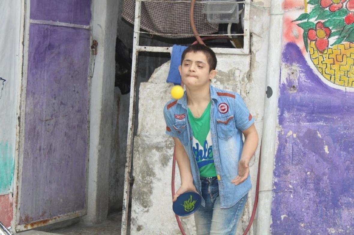 Děti se zvláštními potřebami v Sýrii