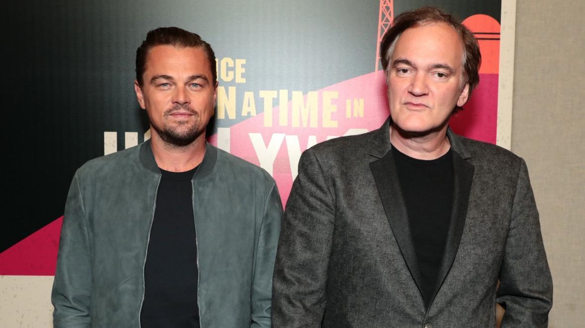 Leonardo DiCaprio a Quentin Tarantino