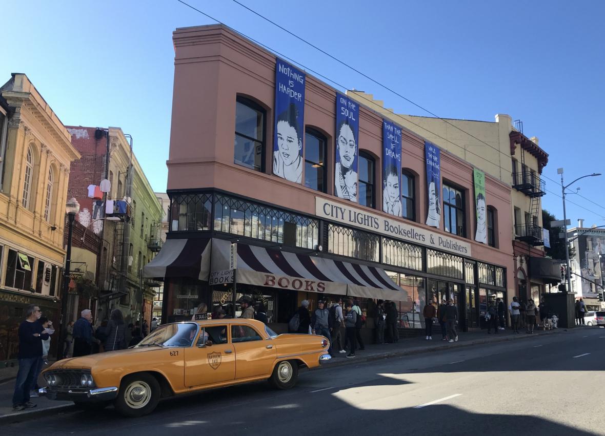 Knihkupectví a nakladatelství City Lights